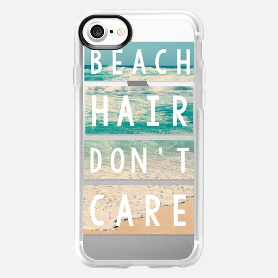 Beach Hair Don't Care Block - Wallet Case