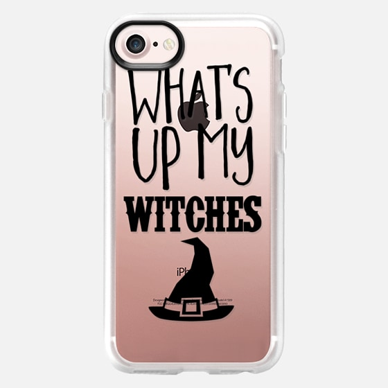 What's UP My Witches Black - Wallet Case