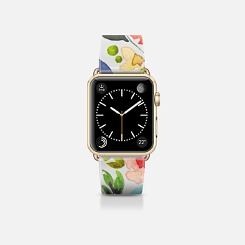 Apple Watch Band (38mm) Case Spring Watercolor Floral