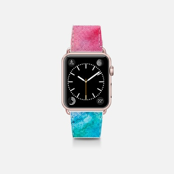 Apple Watch Band (38mm)  Bright Watercolor Paint