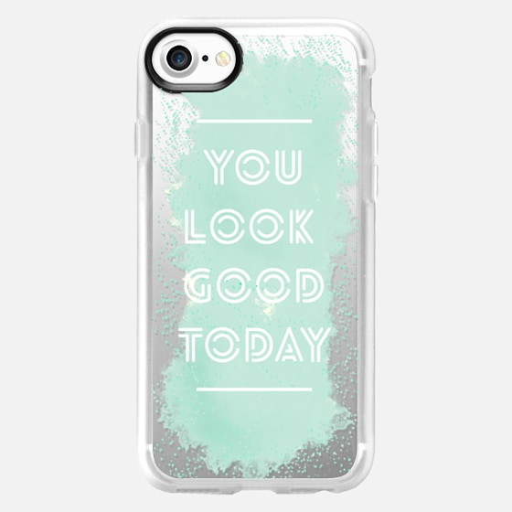 You Look Good Today Watercolor - Wallet Case