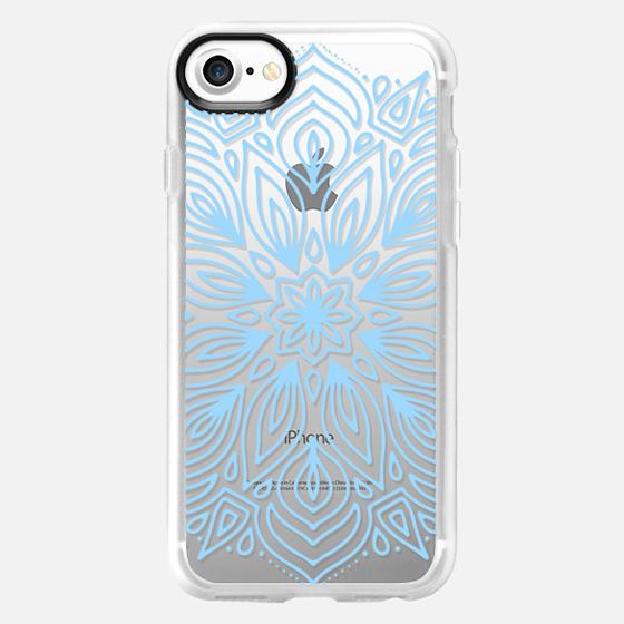 Cerulean Frost Mandala - Classic Grip Case