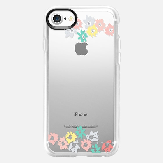 Floral Blank - Classic Grip Case