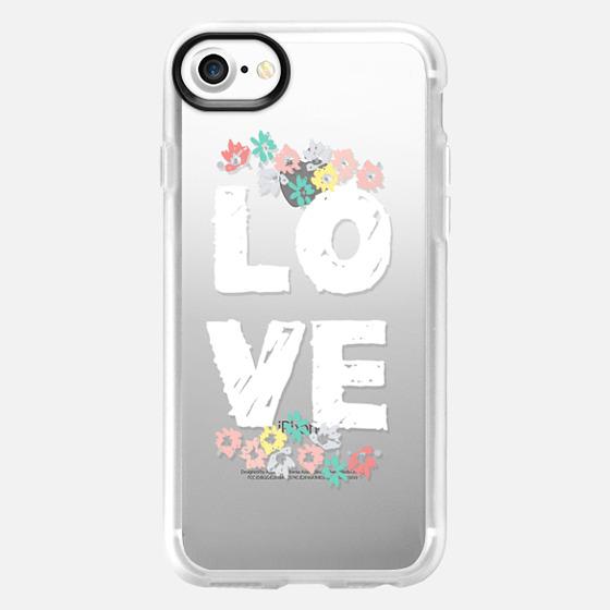 Love Floral - Classic Grip Case