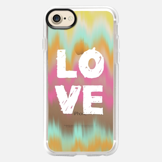 Love and Color Waves - Classic Grip Case