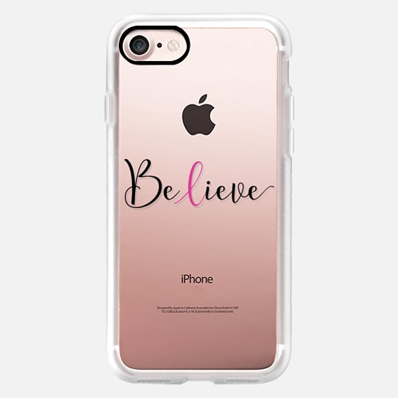 Believe - Breast Cancer Awareness Month -