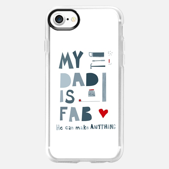 My Dad is Fab - Classic Grip Case