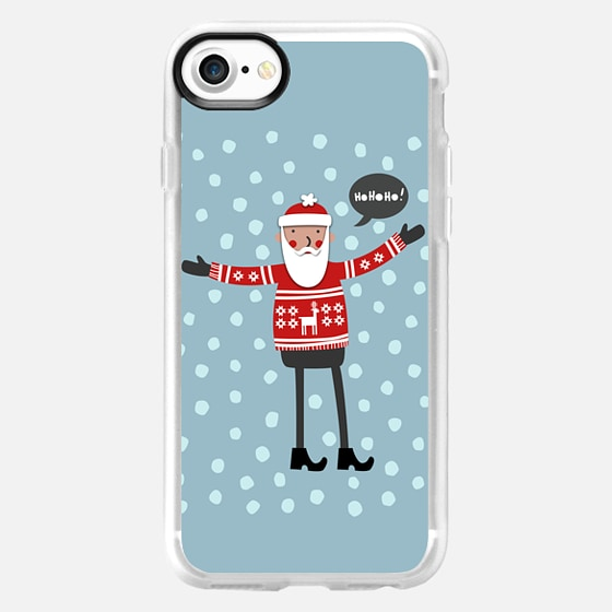 Hipster Santa - Classic Grip Case
