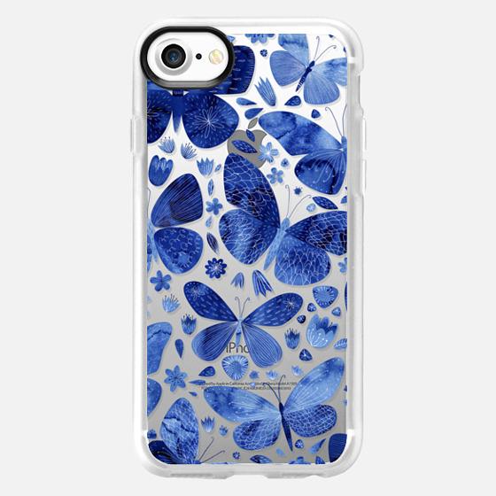 Blue Butterflies - Wallet Case
