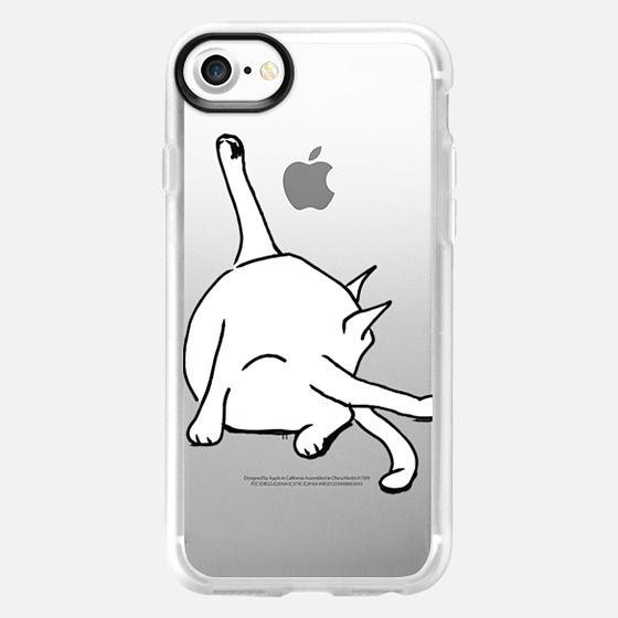 Cat Washing Bottom - Snap Case