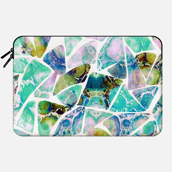 Marbled Earth Laptop Case - Macbook Sleeve