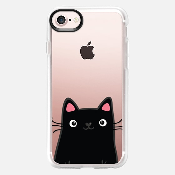 Cute black kitty cat -