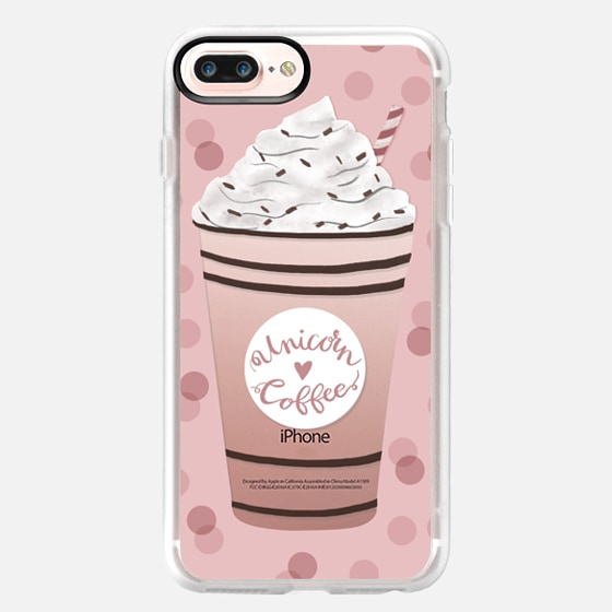 iPhone 7 Plus Case - Unicorn Coffee