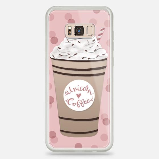 Galaxy S8+ Hülle - Unicorn Coffee