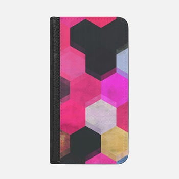 iPhone Wallet Case -  colour + pattern 13