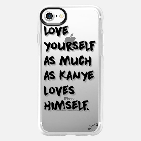 Love Yourself As Much As Kanye Loves Himself - Wallet Case