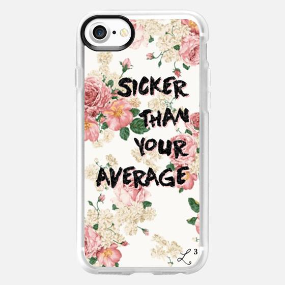 Hip Hop Classics - Sicker Than Your Average Pink Pastel Flowers - Wallet Case