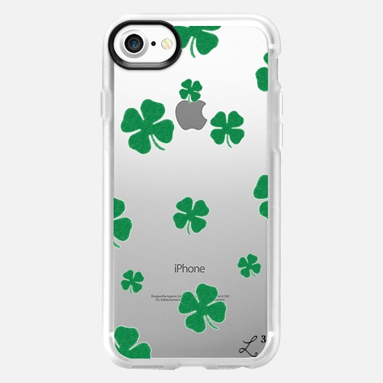 Lucky 4 Leaf Clover - St Patrick's Day - Wallet Case