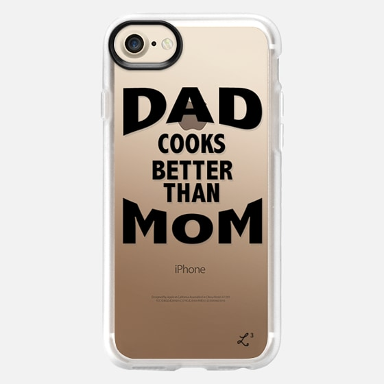 Dad Cooks Better Than Mom - Happy Father's Day 2016 - Wallet Case