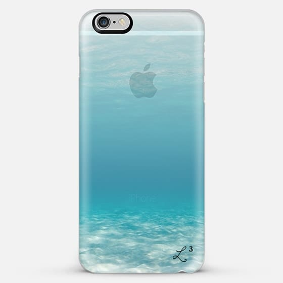 Travel The World - Under The Sea Transparent - Classic Snap Case