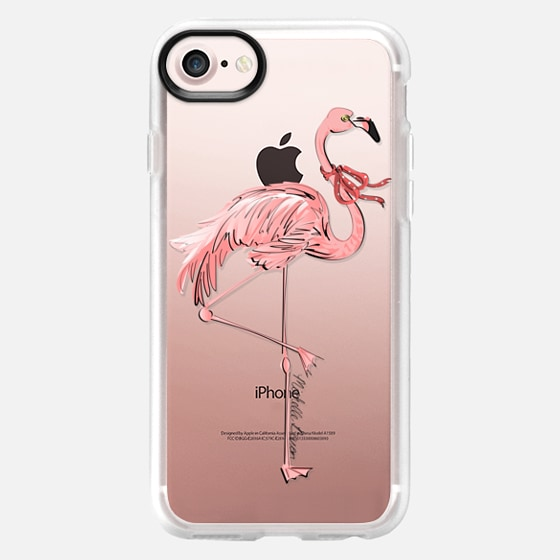 Stylish Flamingo - Wallet Case