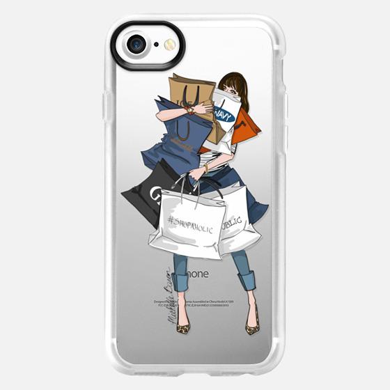 Shopping Day Fashion Illustration - Wallet Case