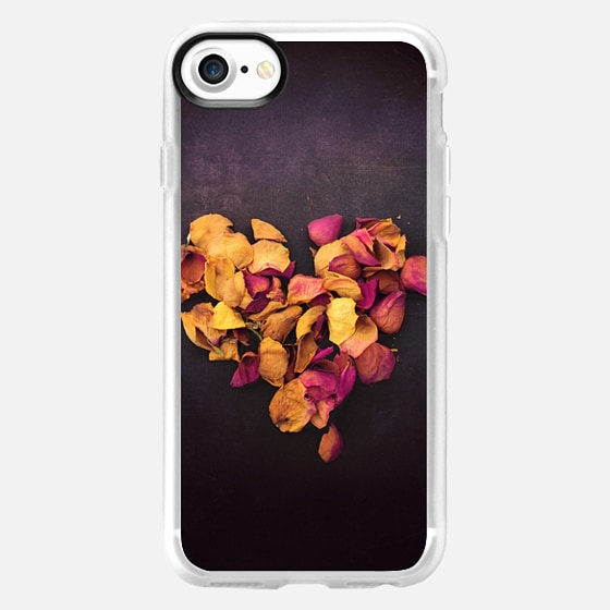Dried Rose Heart - Classic Grip Case