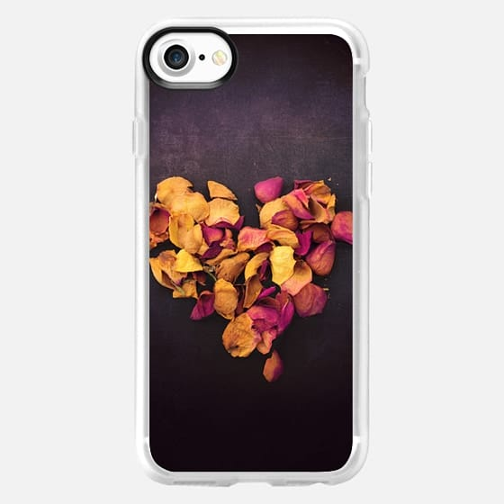 Dried Rose Heart - Snap Case