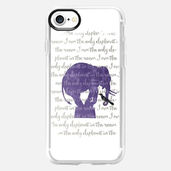 I am the only elephant - Snap Case