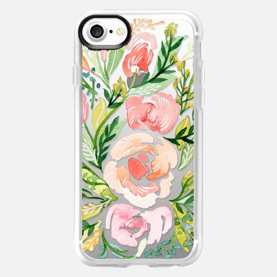 Natalie Malan - Blush Roses iPhone7+ - Classic Grip Case