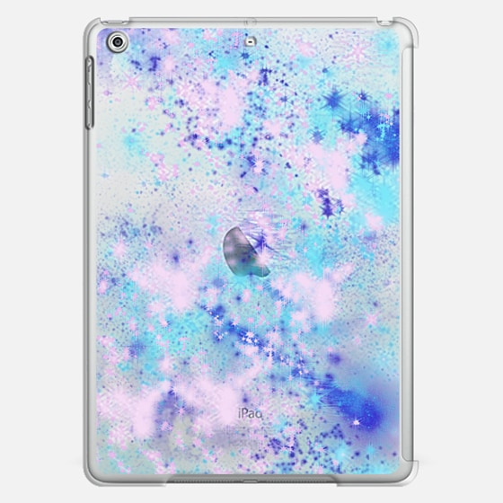 Dream A Little Dream - Purple Stars Space Galaxy Sky Transparent - Classic Snap Case