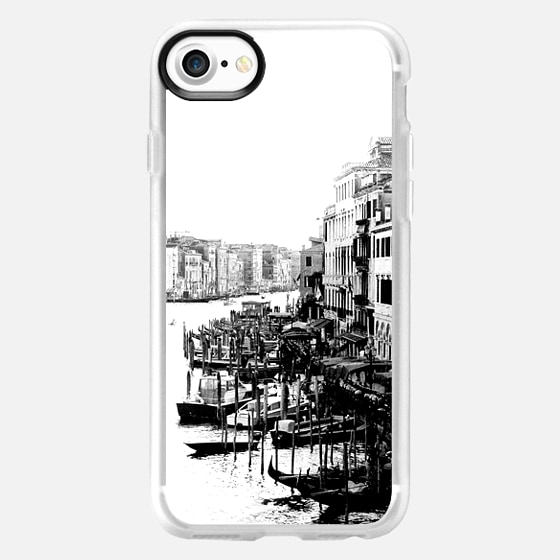 Venice revisited bw -