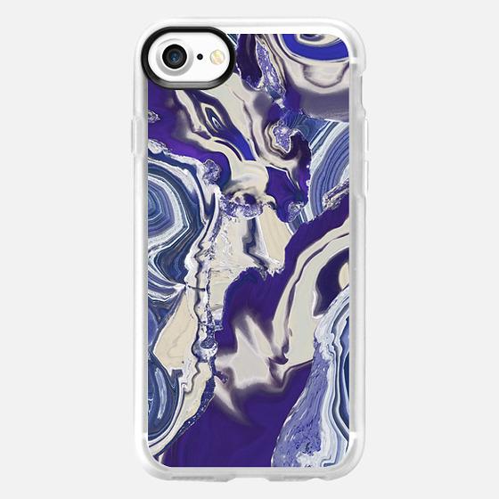 Liquid agate - Wallet Case