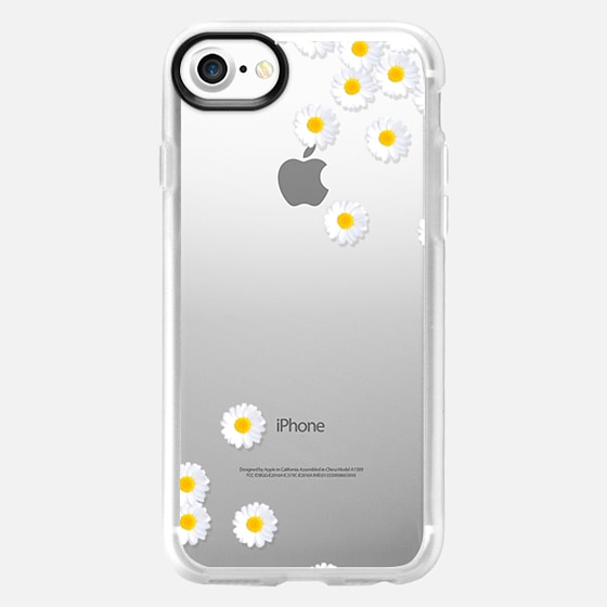 DAISY RAIN Crystal Clear iPhone Case -