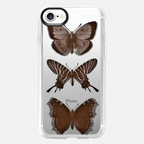 WOOD BUTTERFLY iphone case - Wallet Case