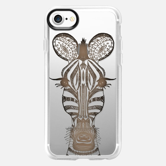 WOOD ZEBRA iphone case - Wallet Case