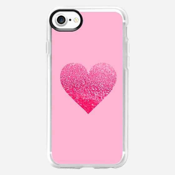 PINK PINK HEART iphone 5 case -