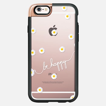 iPhone 6s Case HAPPY DAISY iPhone6 transparent case