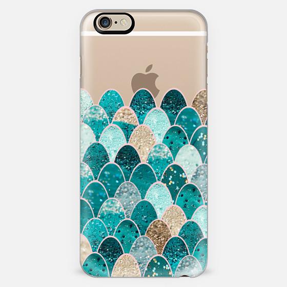 MERMAID SCALES iPhone6 transparent -