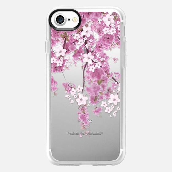 CHERRY SPRING iPhone 6 case TRANSPARENT - Wallet Case