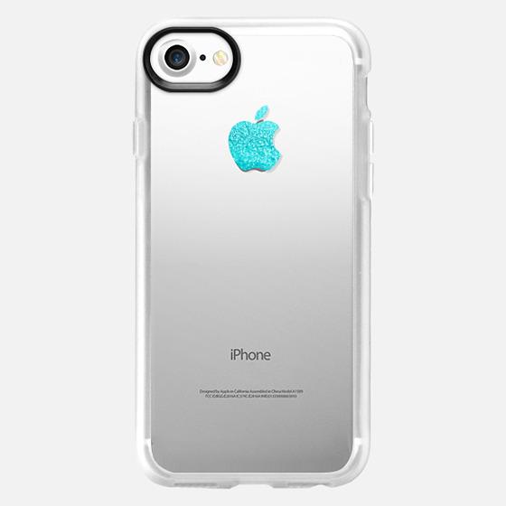 APPLE*ICIOUS TIFFANY MINT by Monika Strigel iPhone 5s - Wallet Case