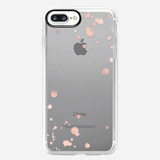 ROSE GOLD SPLATS iPhone 5s by Monika Strigel -