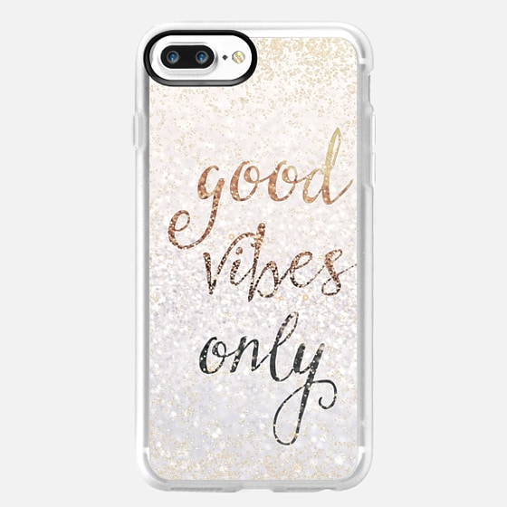 GOOD VIBES ONLY iPhone 5c by Monika Strigel -