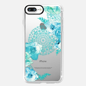 iPhone 7 Plus Case MINT SPRING by Monika Strigel