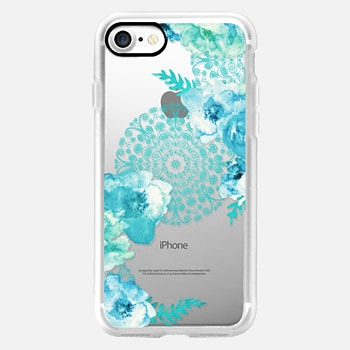 iPhone 7 ケース MINT SPRING by Monika Strigel