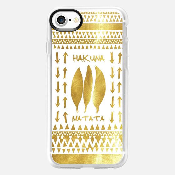 HAKUNA MATATA iPhone 5s by Monika Strigel -