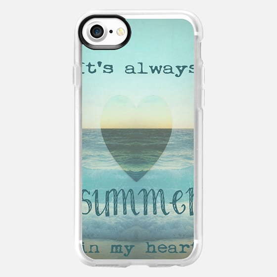 SUMMER IN MY HEART by Monika Strigel - Wallet Case