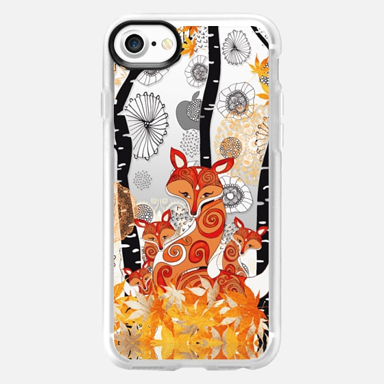HELLO FOX! by Monika Strigel - Wallet Case