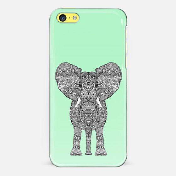 ELEPHANT GREEN - Classic Snap Case