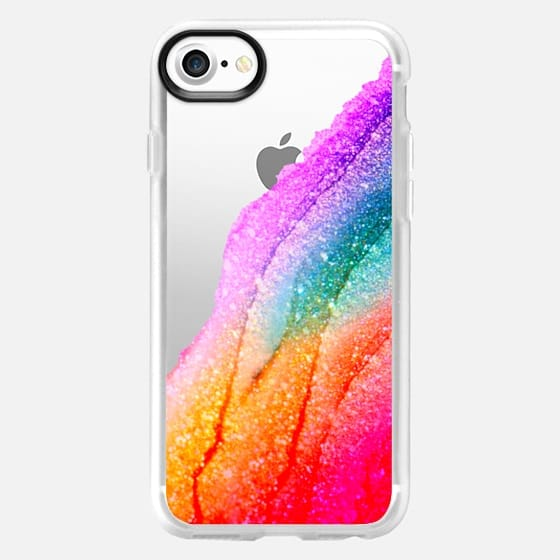 FLAWLESS RAINBOW Faux Glitter by Monika Strigel iPhone 6 - Classic Grip Case